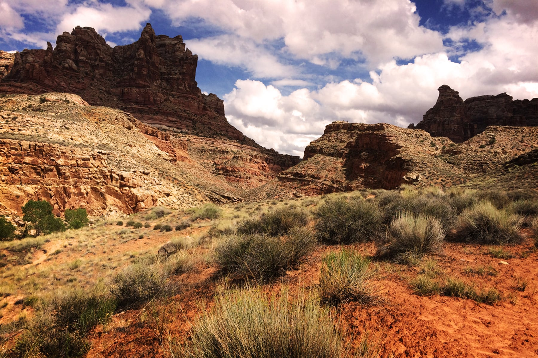 Dark Canyon Crenellations