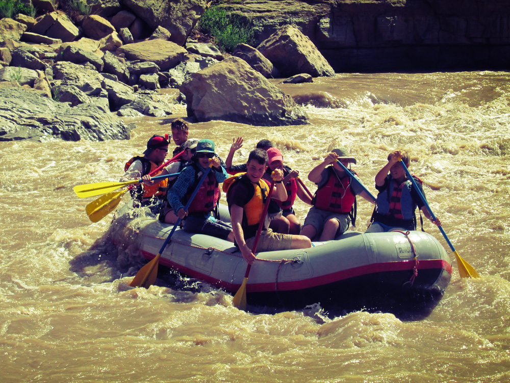 Rafting the San Juan River