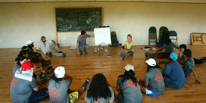 Summer search group in the Meeting Place