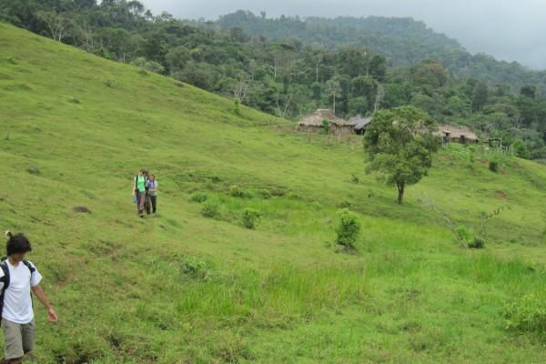 CRE village hillside