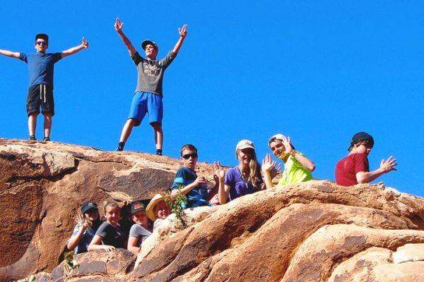 Group on rocks 1000x750