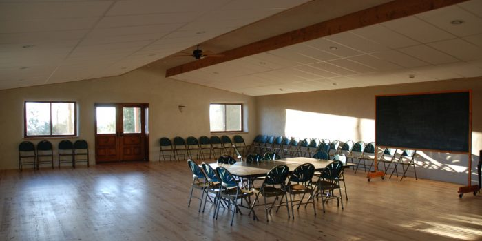 Interior of the Meeting Place
