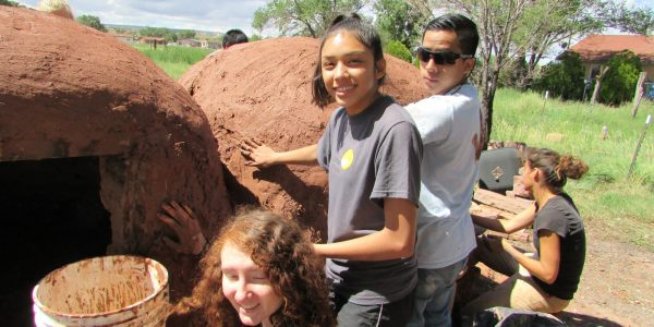 Teen service learning and cultural exchange in Zuni Pueblo