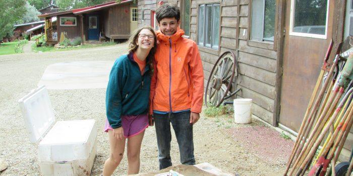 Teen adventure camp in Colorado
