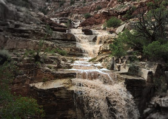 Dark Canyon Falls