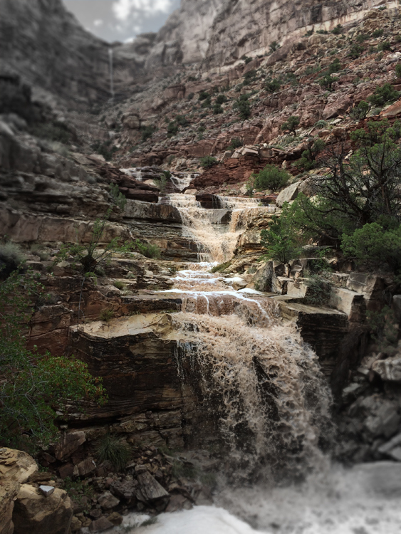 Dark Canyon Falls