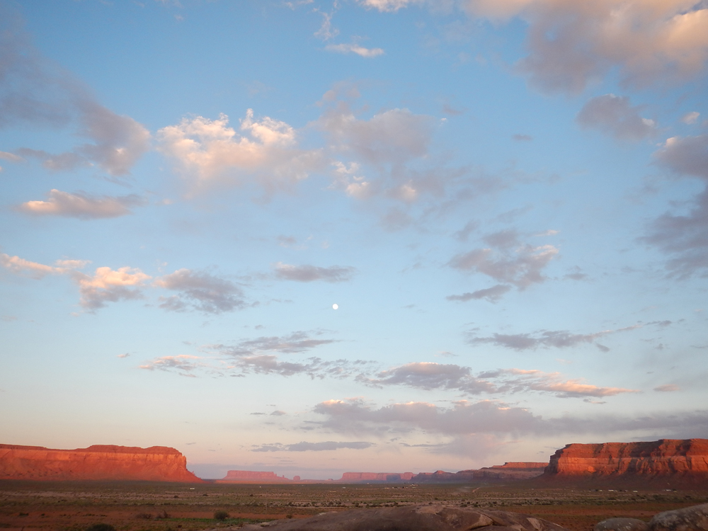Service project site near Monument Valley, Navajo Nation